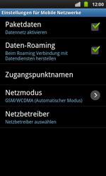 Samsung Galaxy S Plus - Ausland - Im Ausland surfen – Datenroaming - 9 / 11