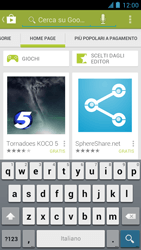 Alcatel One Touch Idol - Applicazioni - Installazione delle applicazioni - Fase 13
