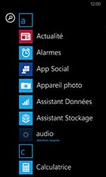 Nokia Lumia 635 - Prise en main - Personnalisation de votre écran d
