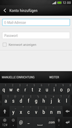 HTC Desire 601 - E-Mail - Konto einrichten - Schritt 6