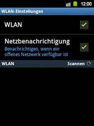 Samsung S5360 Galaxy Y - WLAN - Manuelle Konfiguration - Schritt 6
