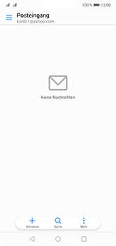 Huawei P20 Lite - E-Mail - Konto einrichten (yahoo) - Schritt 8