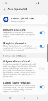 Samsung Galaxy S10e - Beveiliging en privacy - zoek mijn mobiel activeren - Stap 9
