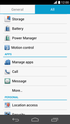 Huawei Ascend P6 - Applications - How to uninstall an app - Step 4