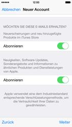 Apple iPhone 5S mit iOS 8 - Apps - Konto anlegen und einrichten - Schritt 29