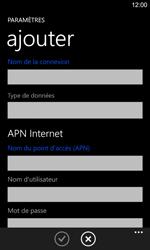 Nokia Lumia 925 - Internet et roaming de données - Configuration manuelle - Étape 10