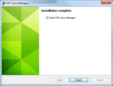 HTC One - Logiciels - Installation du logiciel de synchronisation PC - Étape 8