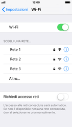 Apple iPhone 5s - iOS 11 - WiFi - Configurazione WiFi - Fase 5
