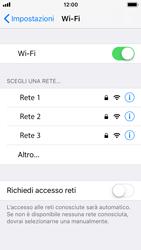 Apple iPhone SE - iOS 11 - WiFi - Configurazione WiFi - Fase 5