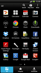 HTC One X Plus - Applications - Setting up the application store - Step 3