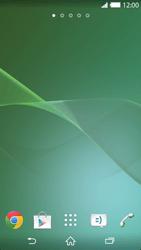 Sony Xperia Z2 - Startanleitung - Installieren von Widgets und Apps auf der Startseite - Schritt 3