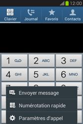 Samsung S6810P Galaxy Fame - Messagerie vocale - configuration manuelle - Étape 6