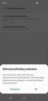 Samsung Galaxy S10 - Netwerk - Handmatig een netwerk selecteren - Stap 8