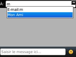 BlackBerry 9320 - Contact, Appels, SMS/MMS - Envoyer un MMS - Étape 6