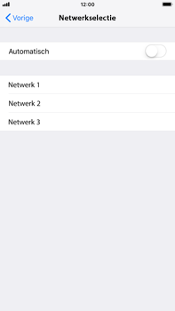 Apple iPhone 7 Plus - iOS 12 - Bellen - in het buitenland - Stap 6