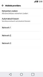LG K10 (2017) (M250n) - Netwerk selecteren - Handmatig een netwerk selecteren - Stap 9
