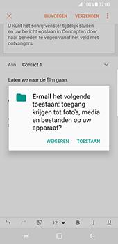 Samsung Galaxy S8 - E-mail - E-mails verzenden - Stap 12