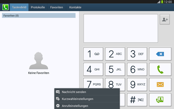 Samsung Galaxy Tab 3 10-1 LTE - Anrufe - Anrufe blockieren - 5 / 14