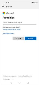 Huawei Nova 5T - E-Mail - 032c. Email wizard - Outlook - Schritt 6