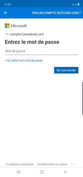 Samsung Galaxy Note 10 - E-mails - Ajouter ou modifier votre compte Outlook - Étape 9