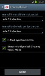 Samsung Galaxy S2 mit Android 4.1 - E-Mail - Konto einrichten - 1 / 1