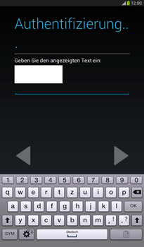 Samsung Galaxy Tab 3 7-0 - Apps - Konto anlegen und einrichten - 0 / 0