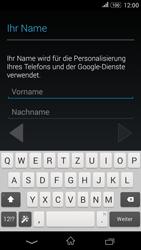 Sony Xperia E4G - Apps - Konto anlegen und einrichten - 5 / 18