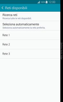 Samsung Galaxy Note Edge - Rete - Selezione manuale della rete - Fase 8