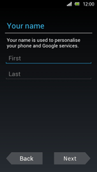 Sony Xperia U - Applications - Setting up the application store - Step 5