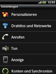 HTC Wildfire - Netzwerk - Netzwerkeinstellungen ändern - 4 / 7