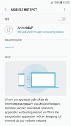 Samsung Galaxy J5 (2016) - Android Nougat - WiFi - Mobiele hotspot instellen - Stap 7
