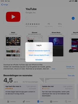 Apple iPad mini 4 iOS 12 - Applicaties - Account instellen - Stap 8