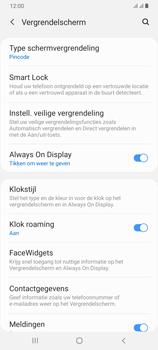 Samsung Galaxy A70 - Beveiliging - stel in of wijzig pincode voor je toestel - Stap 13