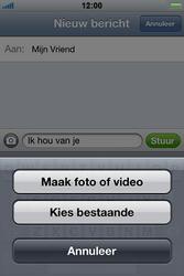 Apple iPhone 4 S - MMS - Afbeeldingen verzenden - Stap 7