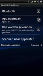 Sony Ericsson LT15i Xperia Arc - Bluetooth - headset, carkit verbinding - Stap 6