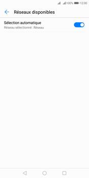 Huawei Y7 (2018) - Réseau - Sélection manuelle du réseau - Étape 6