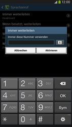 Samsung I9205 Galaxy Mega 6-3 LTE - Anrufe - Rufumleitungen setzen und löschen - Schritt 10