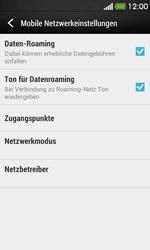 HTC Desire 500 - Ausland - Auslandskosten vermeiden - Schritt 7
