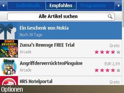 Nokia E72 - Apps - Konto anlegen und einrichten - Schritt 9