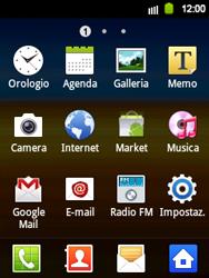 Samsung Galaxy Y - Applicazioni - Configurazione del negozio applicazioni - Fase 3