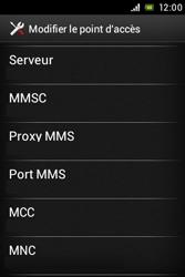 Sony ST23i Xperia Miro - MMS - configuration manuelle - Étape 12
