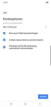 Samsung Galaxy Note 10 Plus 5G - E-Mail - 032b. Email wizard - Yahoo - Schritt 12