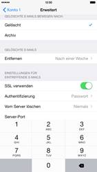 Apple iPhone 6 Plus - iOS 8 - E-Mail - Manuelle Konfiguration - Schritt 23