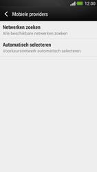 HTC One - Netwerk - Handmatig netwerk selecteren - Stap 9