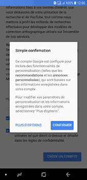 Samsung Galaxy J6 - Applications - Créer un compte - Étape 17