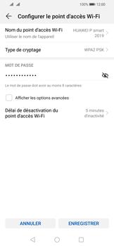 Huawei P Smart (2019) - Internet - comment configurer un point d'accès mobile - Étape 8