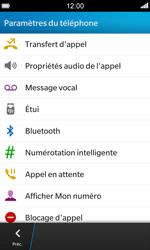 BlackBerry Z10 - Messagerie vocale - Configuration manuelle - Étape 5