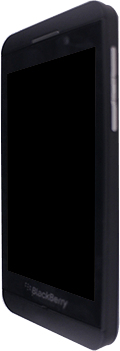 BlackBerry Z10 - Premiers pas - Découvrir les touches principales - Étape 2
