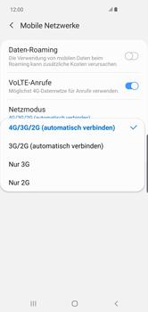 Samsung Galaxy S10 Plus - Netzwerk - Netzwerkeinstellungen ändern - Schritt 7