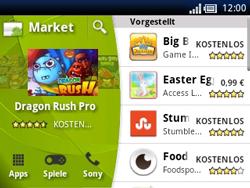 Sony Ericsson Xperia X10 Mini Pro - Apps - Herunterladen - Schritt 10